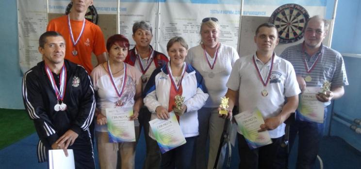 Чемпионат по дартсу в Красноярском крае