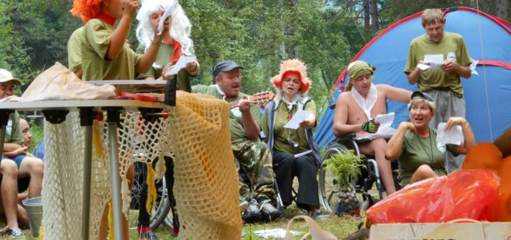 Туристическая акция молодых инвалидов «Робинзоны Сибири