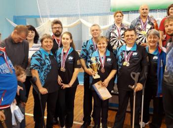 Чемпионат и Первенство России по дартсу среди инвалидов