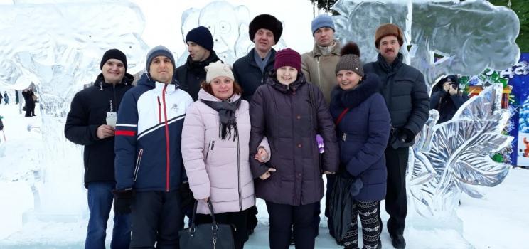 «Волшебный лед Сибири»