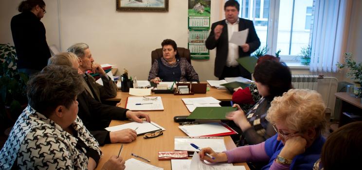 Заседание Президиума КРО ВОИ