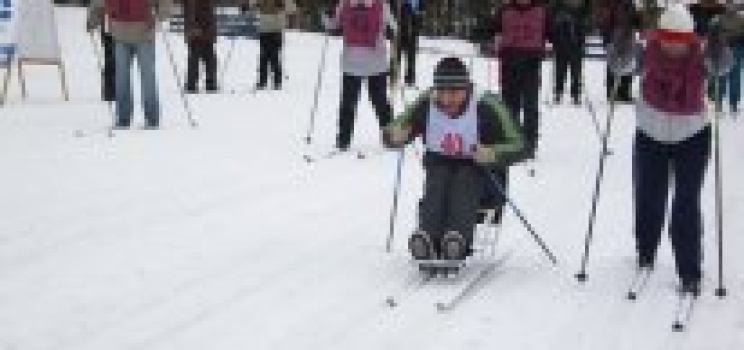 Зимний фестиваль адаптивного спорта