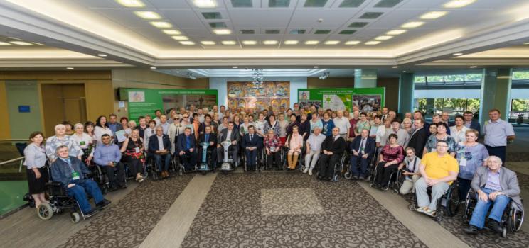 Юбилей Всероссийского общества инвалидов