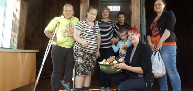 «Яблочный спас» в Ирбейском районе