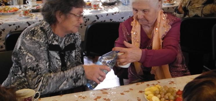 В Богучанах отметили День старшего поколения!