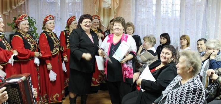25-летие со дня образования МО ВОИ Ленинского района г. Красноярска