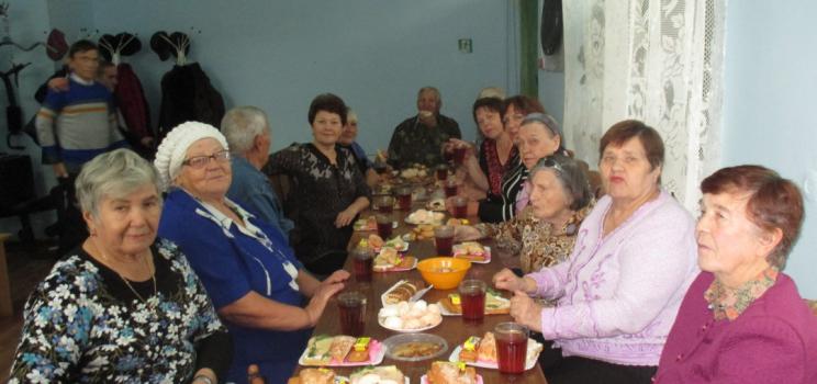 «День пожилого человека» в местной организации ВОИ г. Минусинска