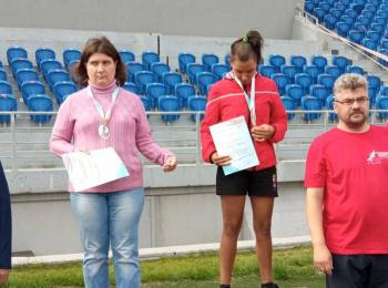 Соревнования легкоатлетов