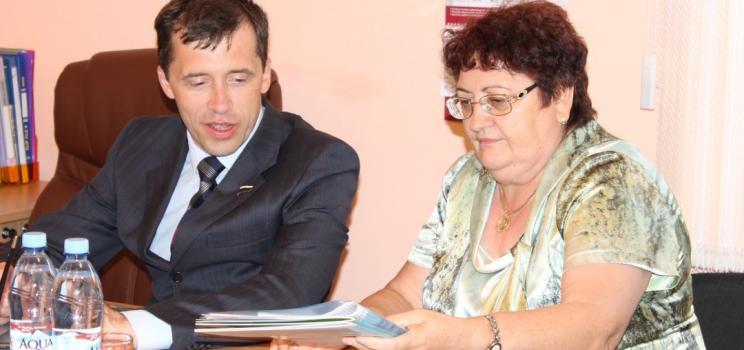Михаил Терентьев с рабочим визитом посетил Красноярск