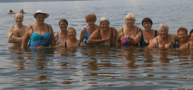 Праздник Нептуна на Красноярском море