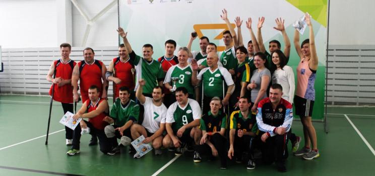 Чемпионат города по спорту лиц с поражением ОДА в Лесосибирске