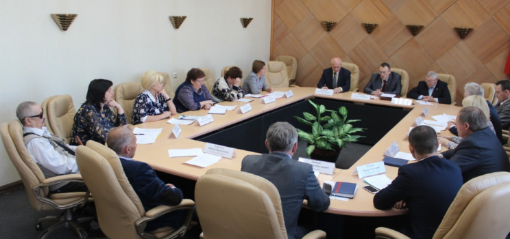 В Железногорске обсудили развитие адаптивного спорта