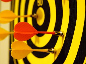 Чемпионат по дартсу в Красноярске