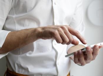 Услуги ПФР в мобильном телефоне