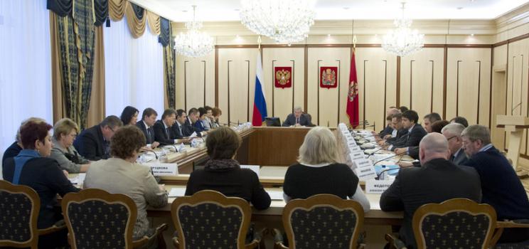 Губернатор края Виктор Толоконский провел заседание совета по делам инвалидов
